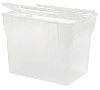 Image for IRIS Split Lid Hanging File Tote Box, Each from SSIB2BStore