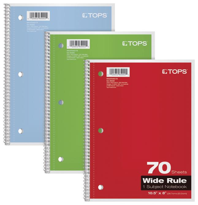 Wirebound Notebooks, Item Number 2025262
