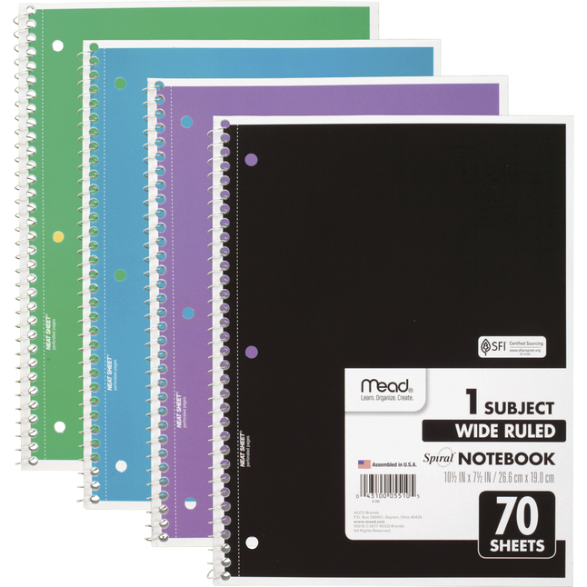 Wirebound Notebooks, Item Number 2025265