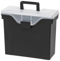 Image for IRIS Organizer Lid Slim Portable File Box, Each from SSIB2BStore