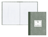 Image for Rediform Lab Composition Notebook, 7-7/8 x 10-1/8 Inches, 60 Sheets, Green and White, Each from SSIB2BStore
