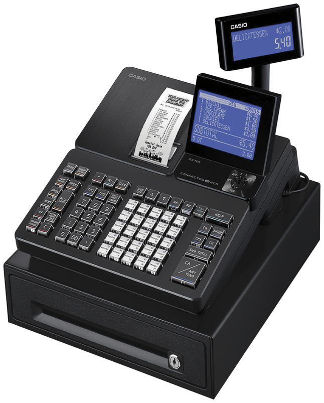 Image for Casio Thermal Print Cash Register, Each from School Specialty