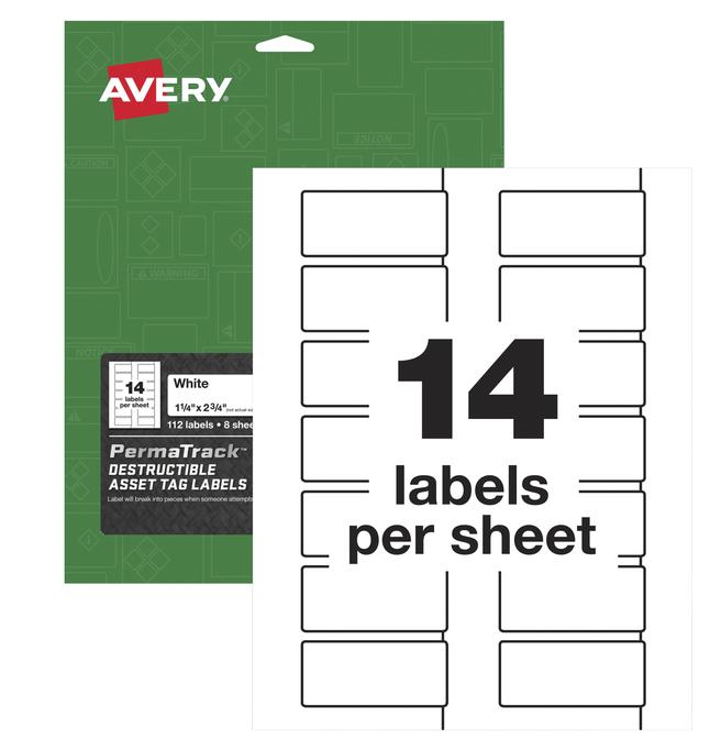 Identification Labels, Item Number 2025569