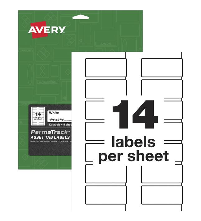 Identification Labels, Item Number 2025617