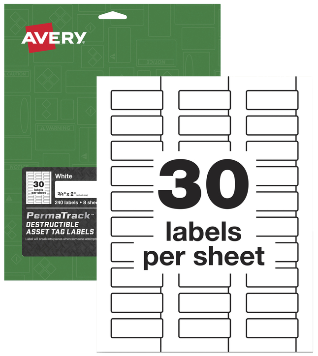 Identification Labels, Item Number 2025642