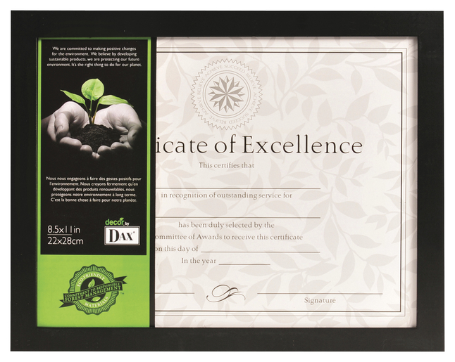 Image for DAX Certificate Frame from School Specialty