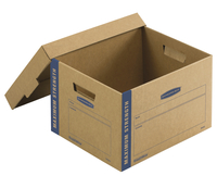 Image for Fellowes Bankers Box SmoothMove Maximum Strength Moving Boxes, Small, 10 x 12 x 15 Inches, Pack of 8 from SSIB2BStore