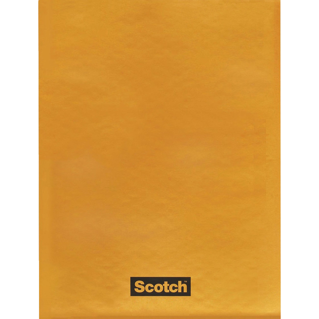 Image for Scotch CD/DVD Bubble Mailers, #000, Tan, Case of 25 from School Specialty
