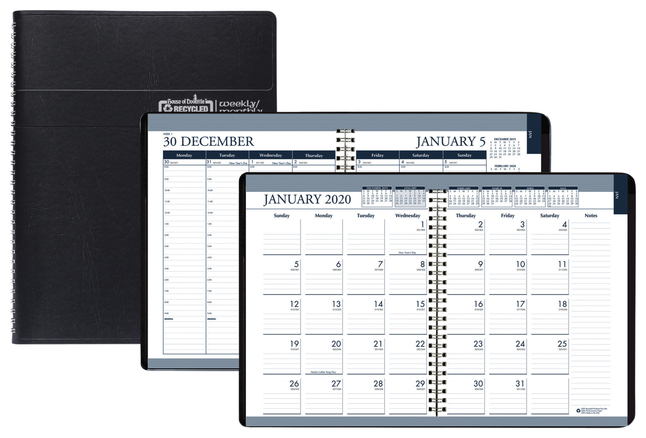 Image for House of Doolittle Tabbed Wirebound Weekly/Monthly Planner from School Specialty