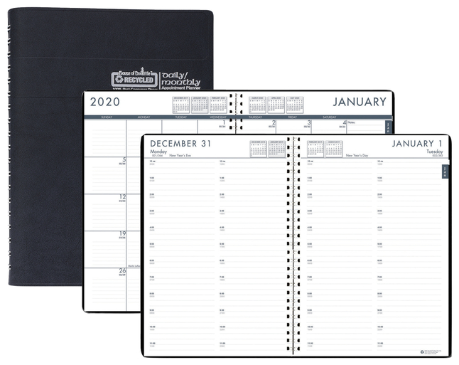 Image for House of Doolittle Recycled Daily/Monthly 24/7 Appointment Planner from School Specialty