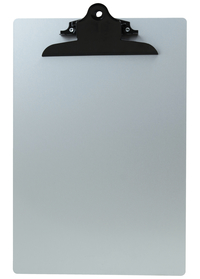 Image for Saunders Black Clip Aluminum Clipboard, Each from School Specialty