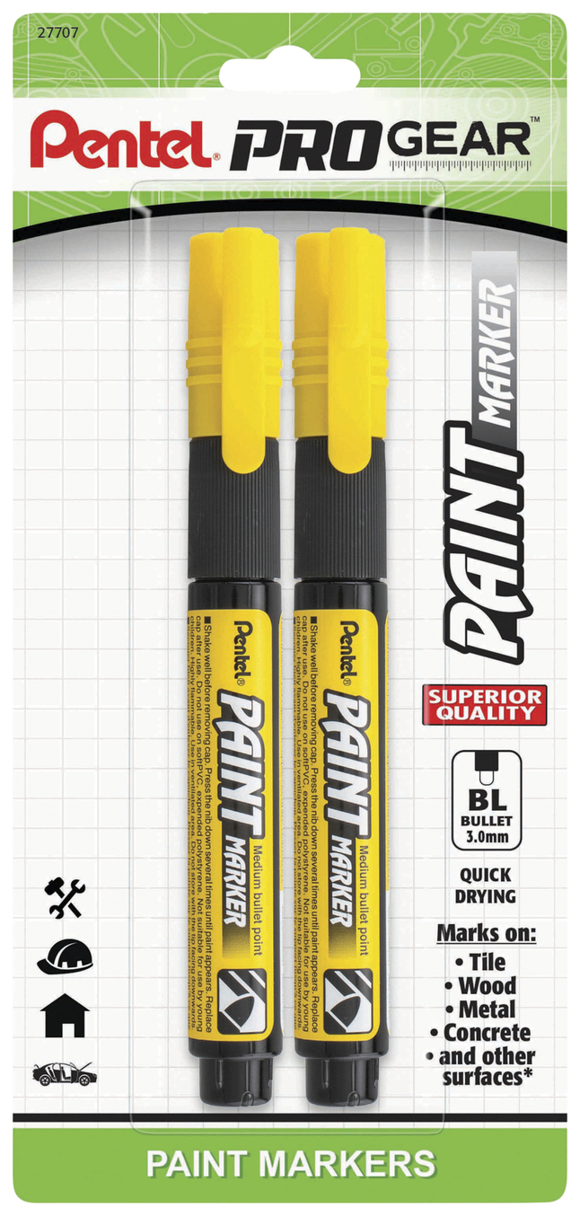 Image for Pentel Opaque Ink Paint Markers from School Specialty