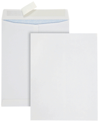 Image for Quality Park Redi Strip Security Mailing Envelopes, White, 10 x 13 Inches, Pack of 100 from School Specialty