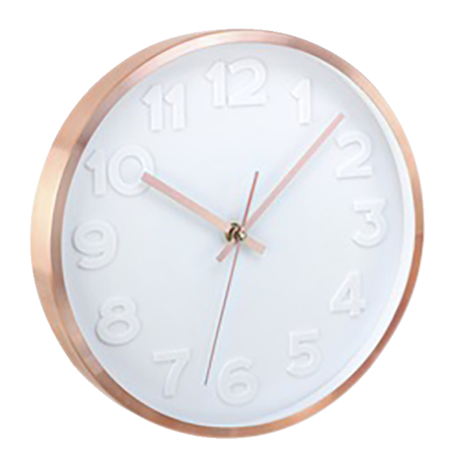 """Image for Artistic 12"""" Copper II Wall Clock, Copper, Each from School Specialty"""