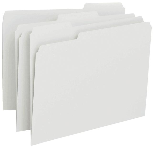 Top Tab File Folders, Item Number 2025908