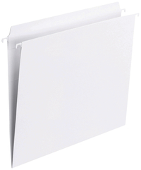 Image for Smead FasTab Straight-cut Tab Hanging Folders, White, Letter, Pack of 20 from School Specialty