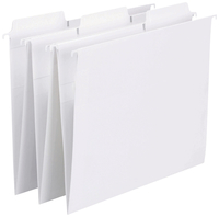 Image for Smead FasTab Hanging Folders, White, Letter, Pack of 20 from School Specialty