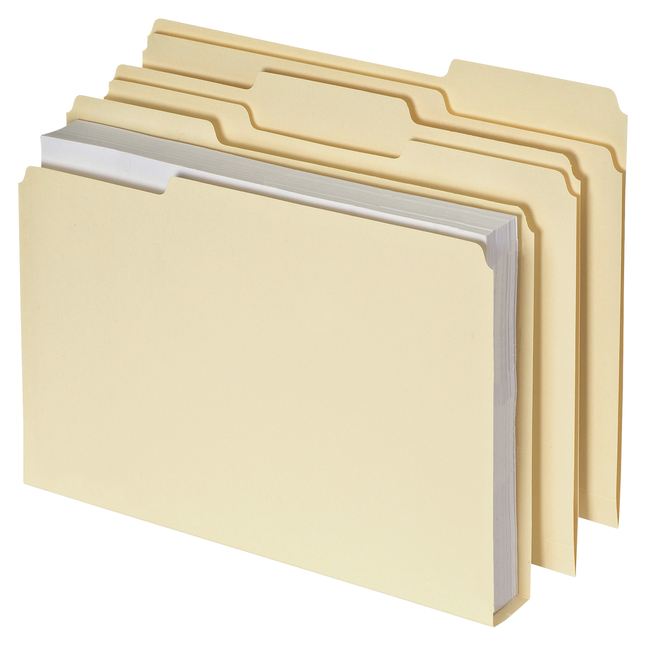 Image for Pendaflex Double Stuff File Folders, Manila, Letter, Pack of 50 from School Specialty
