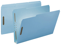 Image for Smead Recycled Pressboard Fastener Folders, Pack of 25 from School Specialty