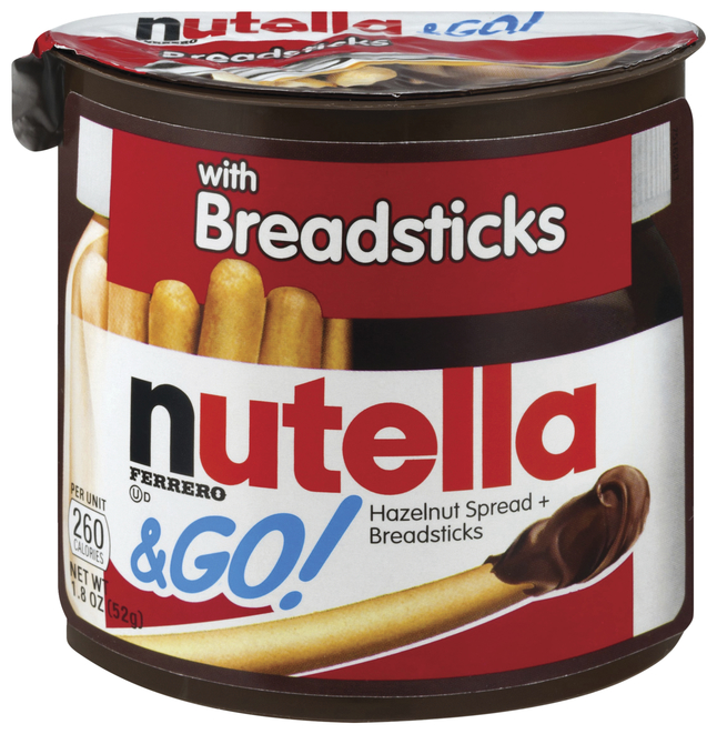Image for Nutella Nutella & GO Hazelnut Spread & Breadsticks, Pack of 12 from School Specialty