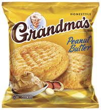 Image for Quaker Oats Grandma's Cookies, Peanut Butter, 2.88 oz, Pack of 60 from School Specialty