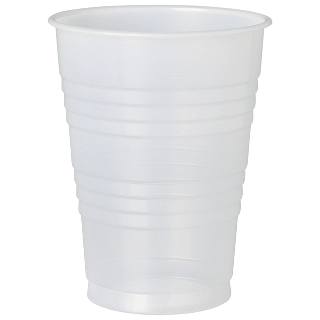 Image for Solo Galaxy Plastic Cold Cups, Translucent, 10 Ounces, Pack of 500 from School Specialty
