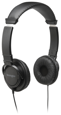 Image for Kensington USB Hi-Fi Headphones, Binaural, Black, KMW97600 from School Specialty