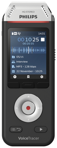 Image for Philips VoiceTracer Audio Recorder, PSPDVT2110 from School Specialty