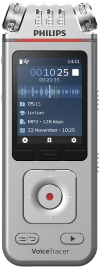 Image for Philips VoiceTracer Audio Recorder, PSPDVT4110 from School Specialty