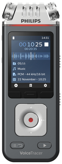 Image for Philips VoiceTracer Audio Recorder PSPDVT6110 from School Specialty
