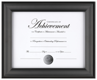 Award Plaques and Certificate Frames, Item Number 2026524