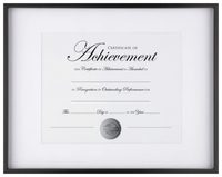 Award Plaques and Certificate Frames, Item Number 2026526