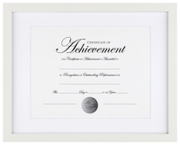 Award Plaques and Certificate Frames, Item Number 2026527