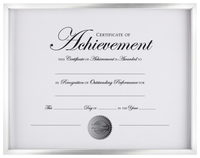 Award Plaques and Certificate Frames, Item Number 2026532