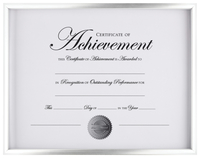 Award Plaques and Certificate Frames, Item Number 2026539