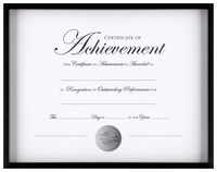 Award Plaques and Certificate Frames, Item Number 2026542