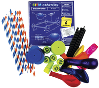 Teacher Created Resources STEM Starters, Balloon Cars Item Number 2026791