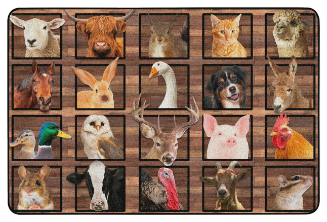 Animals, Nature Carpets And Rugs, Item Number 2027048