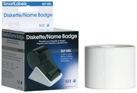 Image for Seiko Diskette/Name Badge Labels, White, 2-3/4 x 2-1/8 Inches, 320 per Roll, Each from School Specialty