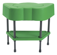 Angeles Adjustable Sensory Table, Shamrock Green, 24 x 13 x 18-14 Item Number 2027746