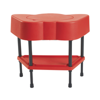 Angeles Adjustable Sensory Table, Candy Apple Red, 24 x 13 x 18-14 Item Number 2027748