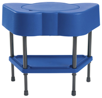 Angeles Adjustable Sensory Table, Royal Blue, 24 x 13 x 18-14 Item Number 2027751