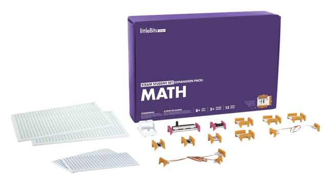 Image for littleBits STEAM Student Set Expansion Pack: Math from School Specialty