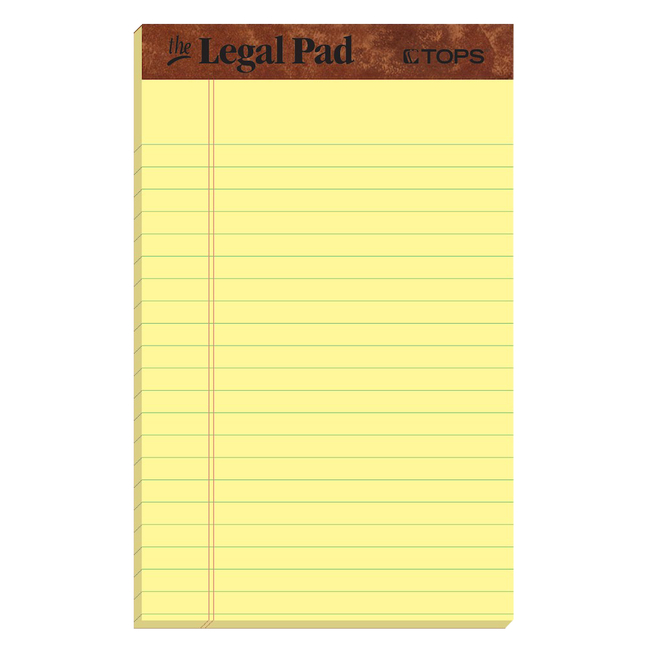 Legal Pads, Item Number 2028313