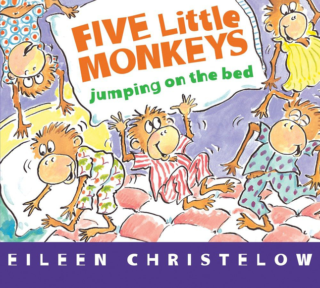 Image for Five Little Monkeys Jumping on the Bed, Board Book from School Specialty