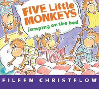 Image for Five Little Monkeys Jumping on the Bed, Board Book from SSIB2BStore