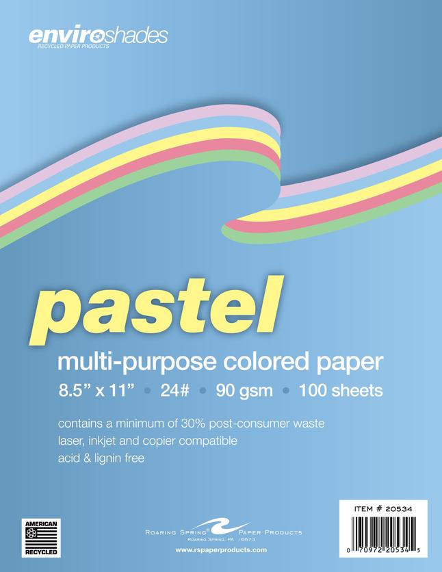 Colored Copy Paper, Item Number 2028995