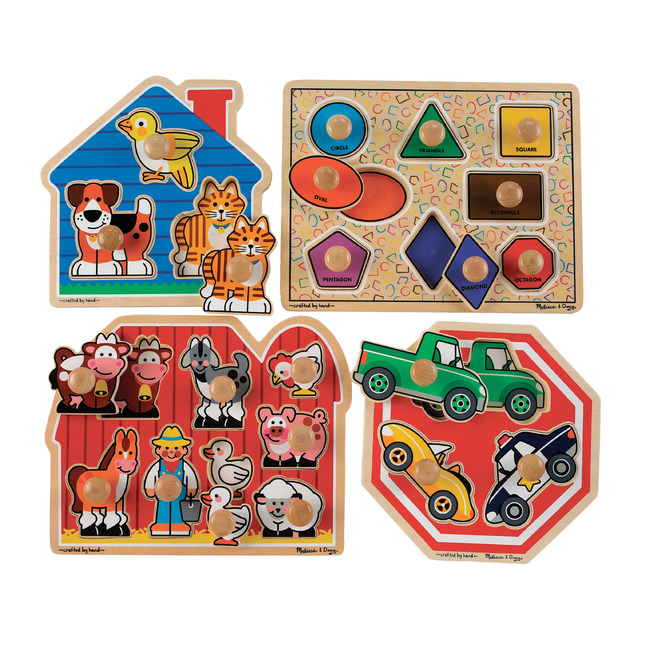 Early Childhood Chunky Puzzles, Item Number 203160