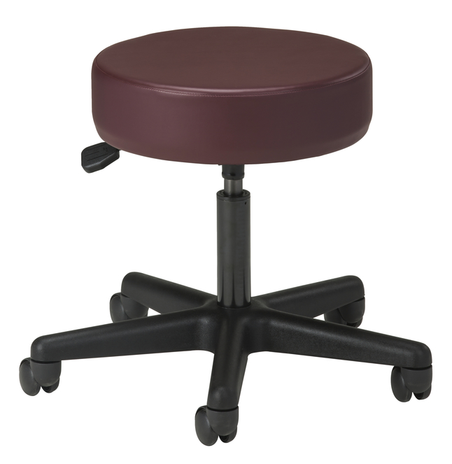 Image for Clinton 5-leg Pneumatic Exam Stool from School Specialty