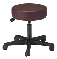 Image for Clinton 5-leg Pneumatic Exam Stool from SSIB2BStore
